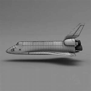 Space Shuttle 3D Model .max .obj .fbx .lwo .lw .lws .ma ...