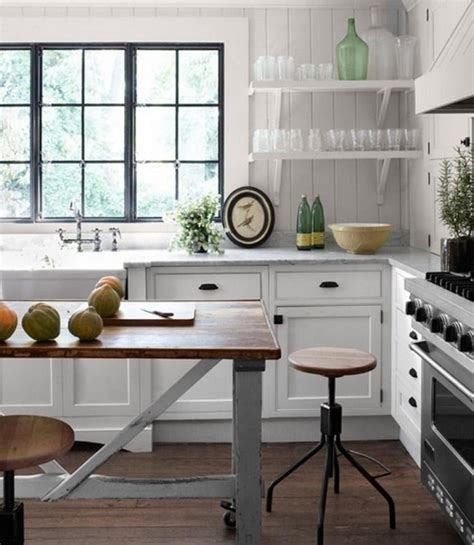 industrial country kitchen designs meuble vintage en cuisine 30 photos d 238 lots tr 232 s styl 233 s 4662