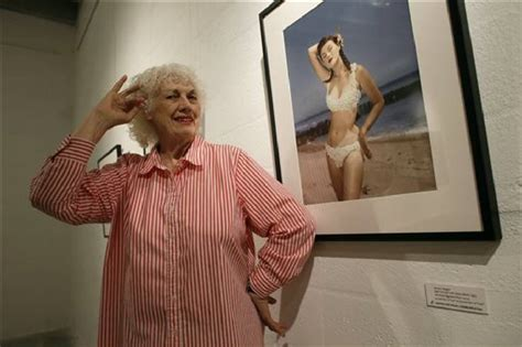 bettie pages pin  photographer bunny yeager dies