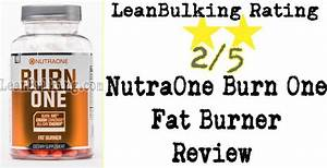 Nutraone Burn One Review