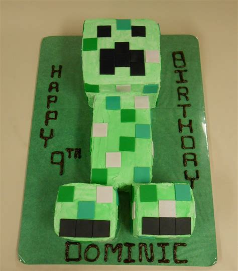 minecraft creeper cake pin minecraft creeper cake from cookingchanneltvcom lindsy