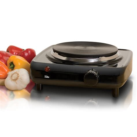 elite cuisine elite cuisine esb 301bf single cast electric burner