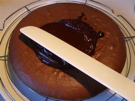 comment napper un gteau glacage chocolat avec creme liquide