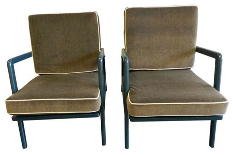 mid century lounge chairs a pair modern outdoor