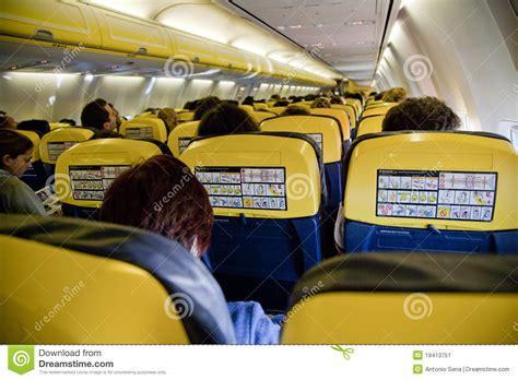 siege avion ryanair avion intérieur photo éditorial image du course