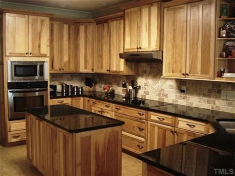 denver hickory kitchen cabinets what countertops go with hickory cabinets search 6537