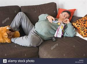 Couch potato stock photo 27670561 alamy for Sofa spud couch potato