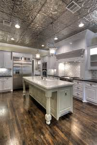 contemporary kitchen carts and islands tin ceilings kitchen traditional kitchen ta by american tin ceilings