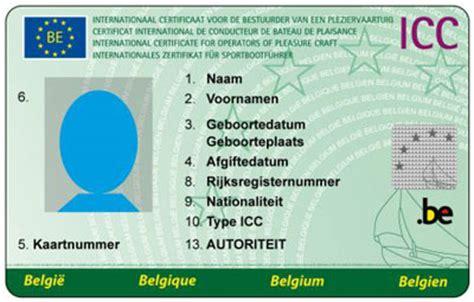 Vaarbewijs Theorie En Praktijk by Theorie Belgisch Stuurbrevet Vaarbewijs Icc Www