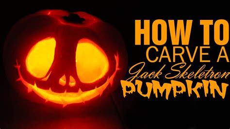 diy   carve  jack skellington pumpkin  halloween
