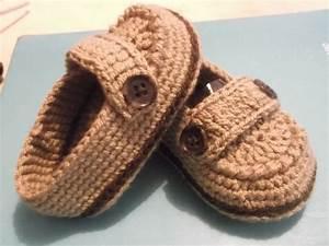 Crochet En S : zapatitos para bebe tipo mocasines tejidos a mano ~ Nature-et-papiers.com Idées de Décoration