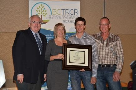 annual  reclamation awards trcr