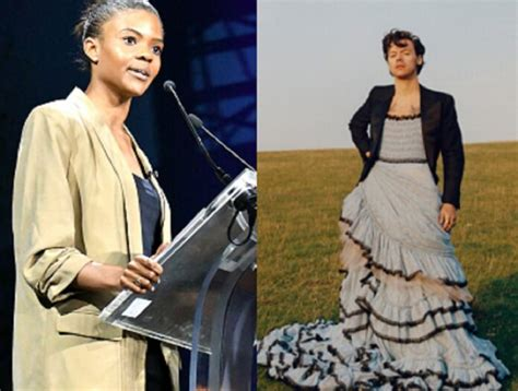 Candace Owens Responds to Backlash to Harry Styles' Dress ...