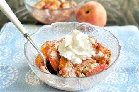 Peach Breakfast Bake