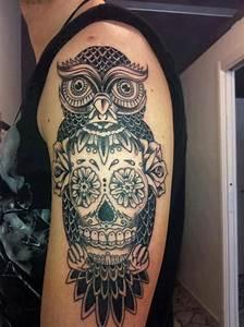 Tatouage Chouette Signification : tatouage hibou chouette 06 inkage ~ Melissatoandfro.com Idées de Décoration
