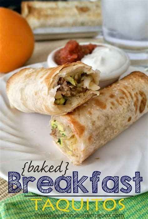 baked breakfast recipes baked breakfast taquitos recipe breakfast 21 days and sour cream