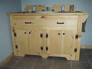 knotty pine vanity vanity cabinets pine log bathroom With bathroom vanities mokena il