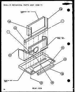 Amana Ptc12300er  P9812615r Central Air Conditioner Parts