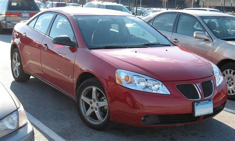 List Of All 2007 Pontiac Cars