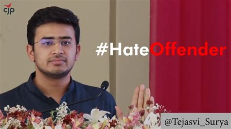 Must Watch Tejasvi Surya's Brand Of Hate And Misogyny