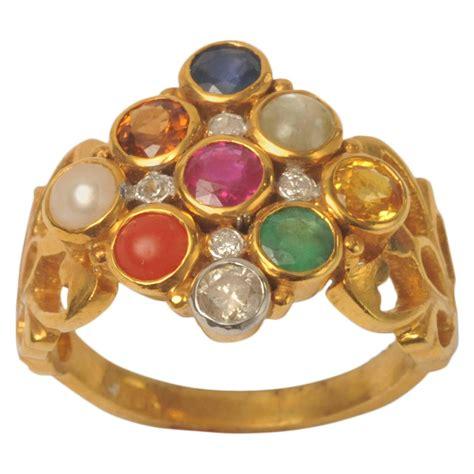 Gold Navaratna Precious And Semiprecious Stone Ring At. Shank Wedding Rings. 1.5 Wedding Rings. Love Marriage Rings. Single Stone Wedding Rings. Jhumki Rings. Norwegian Men's Wedding Rings. Fairy Light Engagement Rings. Named Wedding Rings
