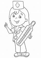 Thermometer Coloring Pages sketch template