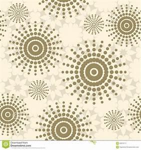 Tapete Mit Kreisen : beige nahtloses muster mit blumen kreisen und punkten ~ Orissabook.com Haus und Dekorationen
