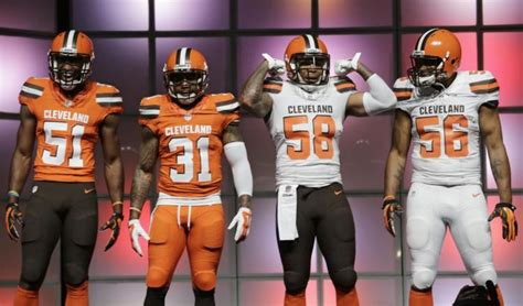 Cleveland Browns Get Image Makeover With New Uniforms