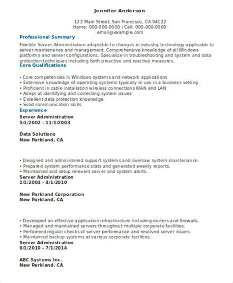 Server Resume Template by 10 Server Resume Templates Pdf Doc Free Premium