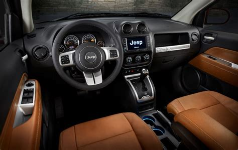 jeep compass 2017 interior 2017 jeep compass overview the news wheel