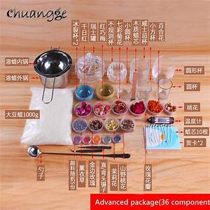 Aliexpress Com   Buy Chuangge Candle Diy Package Set Soy
