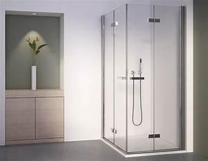 Glas Falttür Innen : duschabtrennung eckeinstieg 90x75 faltt r glas mit 2 drehfaltt ren ~ Sanjose-hotels-ca.com Haus und Dekorationen
