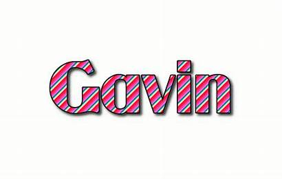 Gavin Logos Text