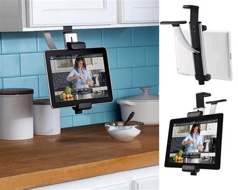 tablette pour cuisine libérez le comptoir de cuisine en suivant une recette sur