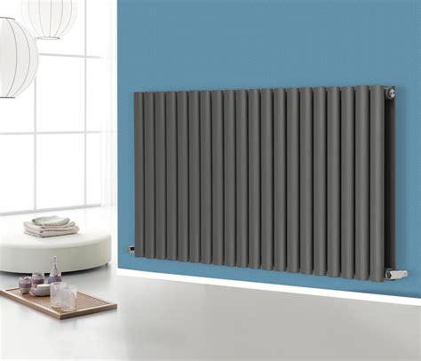 Modern Bathroom Heating by Anthracite Oval Column Panel Designer Modern Bathroom