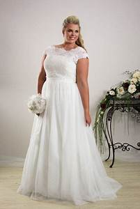 simple plus size wedding dress annie plus size bridal With simple plus size wedding dresses