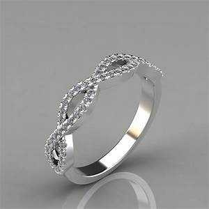024ct infinity design wedding band ring puregemsjewels With infinity design wedding ring