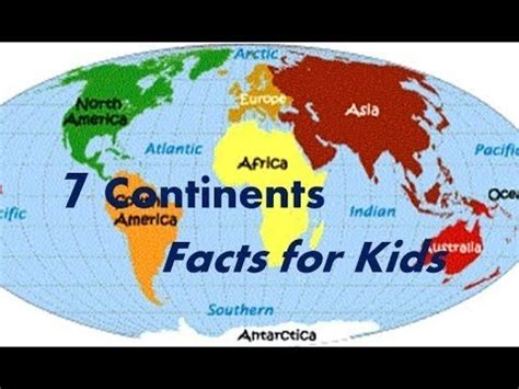 continents interesting facts  kids youtube