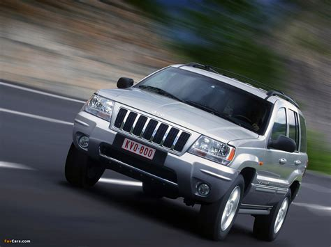 Jeep Wj Wallpaper by Jeep Grand Overland Wj 2002 04 Wallpapers