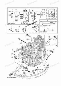 Yamaha Outboard Parts By Hp 200hp Oem Parts Diagram For Electrical 4