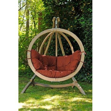 amazonas hamac fauteuil rond suspendu d 233 co socle