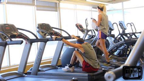 faire n importe quoi dans une salle de sport