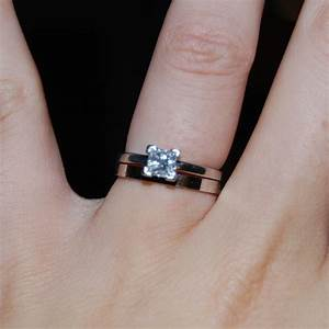 blending beautiful wedding wednesday With wedding band or engagement ring