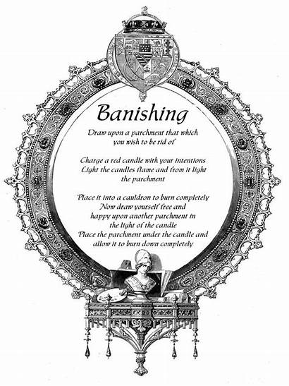 Spells Banishing Spell Wiccan Pagan Magick Witchcraft