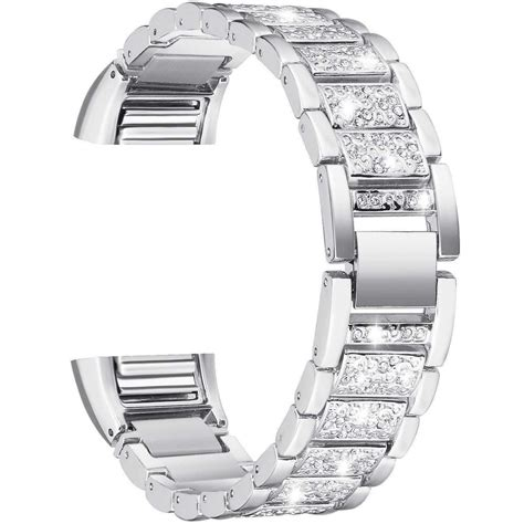 fitbit charge 2 replacement stylish pattern stainless steel bracelet bands ebay