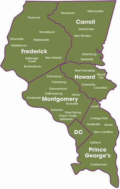 Map Area Service Care Nursing Areas Fnc