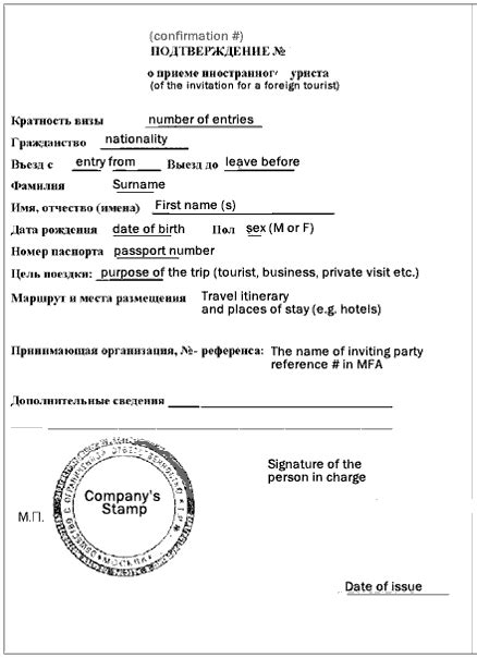 Types of Russian Visa and Invitations - Way to Russia Guide