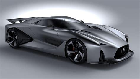 Wallpaper Nissan 2020 Vision Gran Turismo, Concept, Nissan