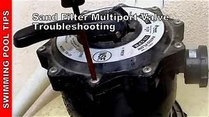 Sand Filter Multiport Valve Troubleshooting  Sand Filte