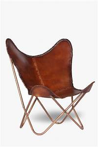 Butterfly Leather Chair - Occasional Chairs - Shop Living